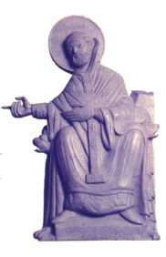statue of St. Augustine of Canterbury