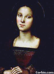 Mary Magdalene, by Perugino