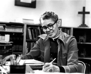 Photograph of Pauli Murray.