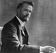 Photograph of Walter Rauschenbusch.